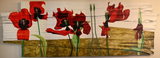 , 'Tulips Dying and Crying III,' 2009, Amos Eno Gallery
