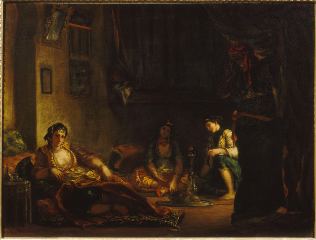 , 'Women of Algiers in their Apartment,' 1847-1849, The National Gallery, London