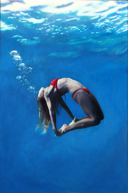 , 'Red Back Bend,' 2014, Elisa Contemporary