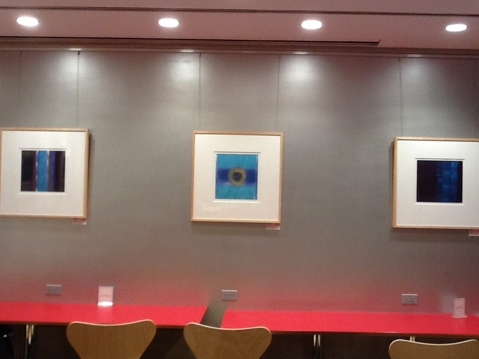 Joan busing monoprints at the new york design center 200 for 200 lexington ave new york