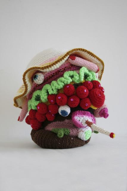 Gil Yefman, 'Breakfast Hat', 2007, Sculpture, Knitting, Ronald Feldman Gallery