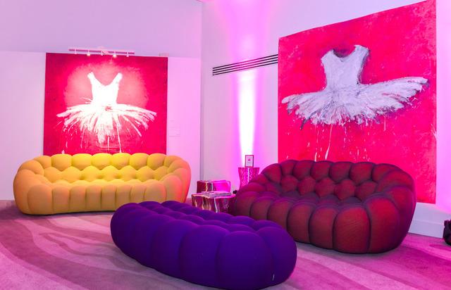 , 'Fuchsia Experience,' 2017, Galleria Ca' d'Oro