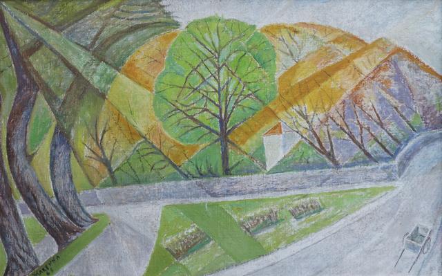 Marie Vorobieff Marevna, 'Castlebar Road, Ealing', 1976, Roseberys