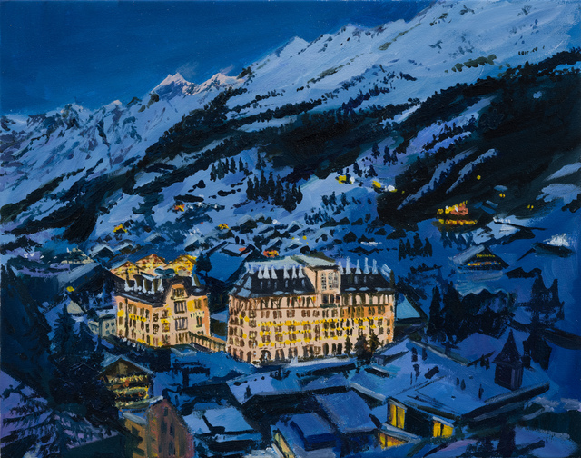 , 'the grand spa hotel - rest cure in the mountains Baden-Baden,' 2015, 303 Gallery