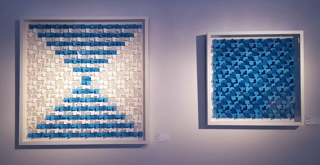 """""""White Sea/Blue"""" and """"Chips"""", Gregg Welz"""