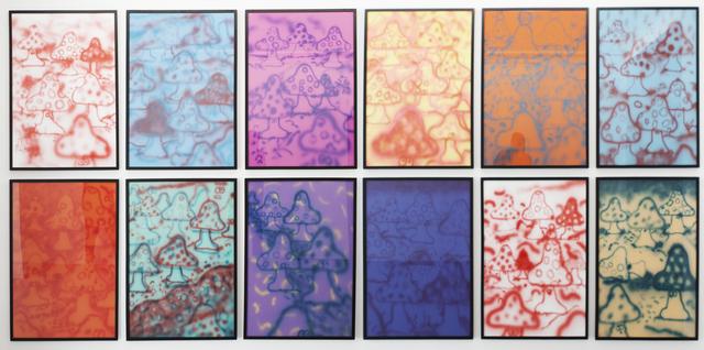 , 'Complete mushroom series, 12 pieces,' 2014, Ruttkowski;68