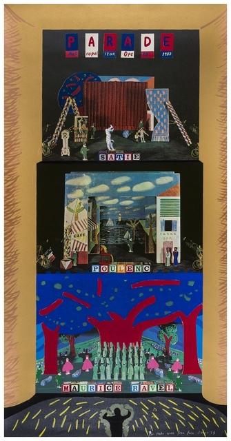 David Hockney, 'Parade (Baggott 109)', 1982, Forum Auctions