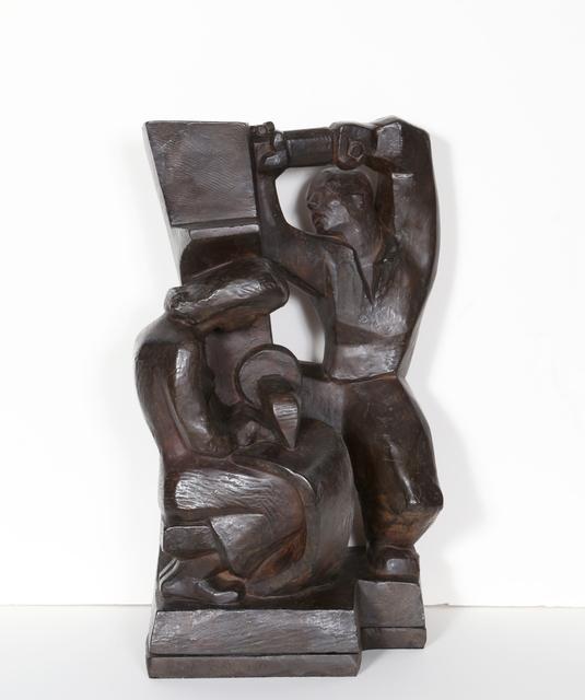 Robert Cronbach, 'Construction & Garment Worker ', 1938, RoGallery