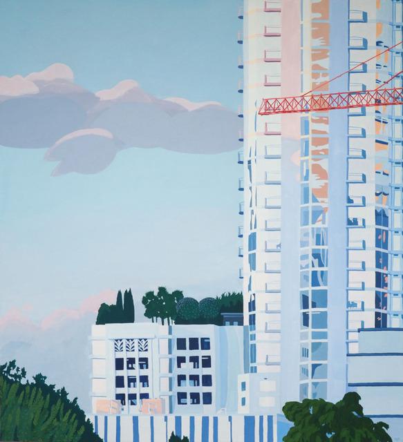 , 'Condo and Crane,' 2018, Wally Workman Gallery