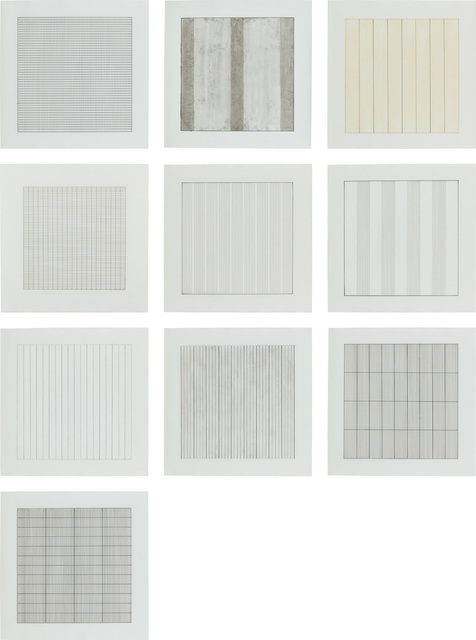Agnes Martin, 'Paintings and Drawings 1974-1990', 1991, Phillips