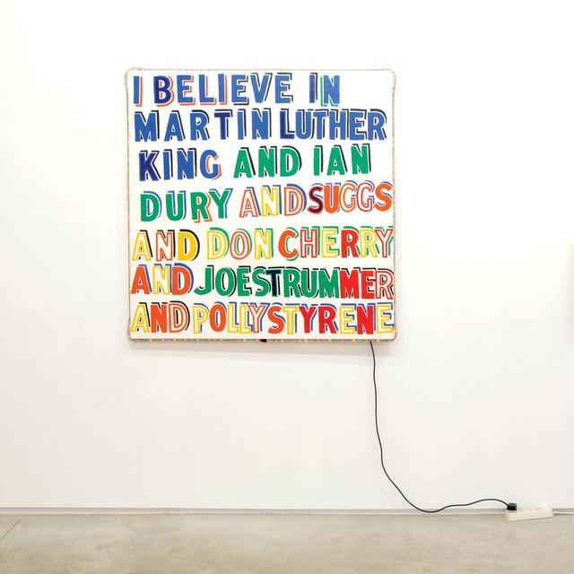 , ''IBelieveinMartinLutherKing',' 2003, Kusseneers
