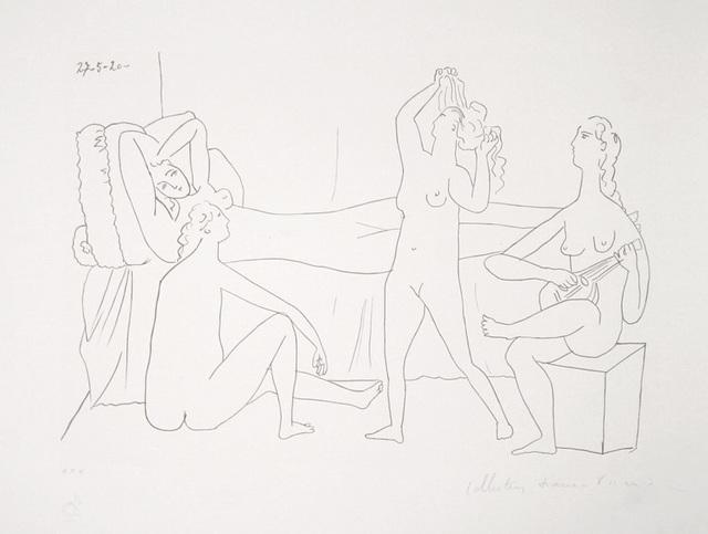 Pablo Picasso, 'Quatre Nus au Harem, 1920', 1979-1982, Print, Lithograph on Arches paper, RoGallery
