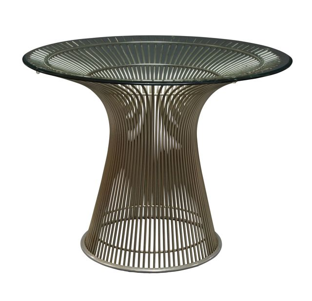 Warren Platner, 'a Platner centre table', c.1960s-1970s, Design/Decorative Art, The circular glass top on steel rod base, Roseberys