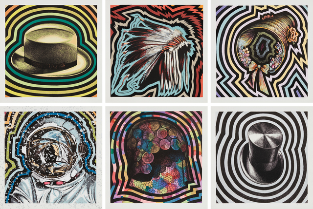 Lowell Nesbitt, 'Hats', 1975, Phillips