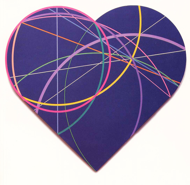 Clifford Singer, 'The Geometry Of The Heart', 1993, Painting, Acrylic on Plexiglas, iMuseum Vegas
