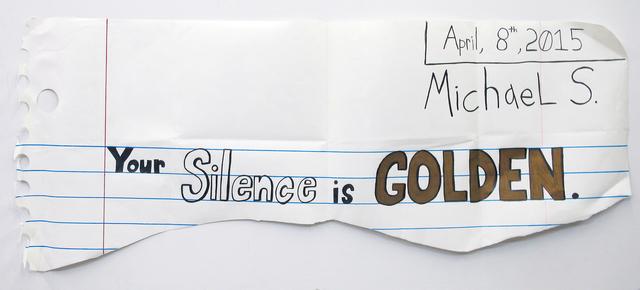 Michael Scoggins, 'Golden', 2015, VICTORI+MO CONTEMPORARY