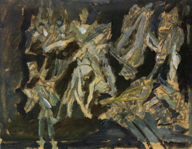 David Bomberg, 'Bomb Store', 1942, Osborne Samuel