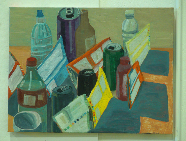 , 'Bags, Cans and Bottles,' 2018, Mindy Solomon Gallery