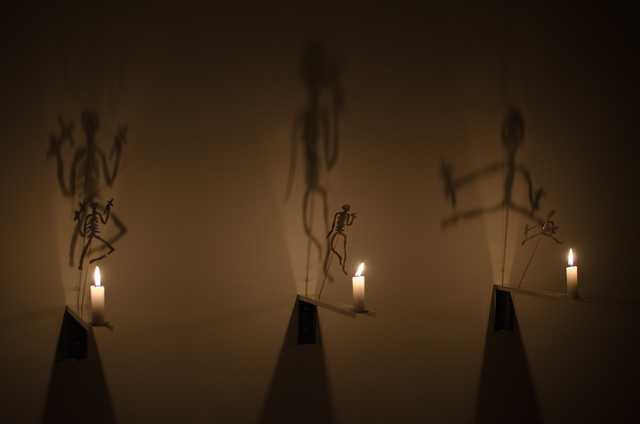 , 'The candles,' 1986, Baró Galeria