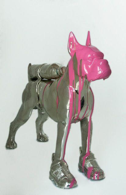 , 'Cloned Bulldog,' 2010, Galleria Ca' d'Oro