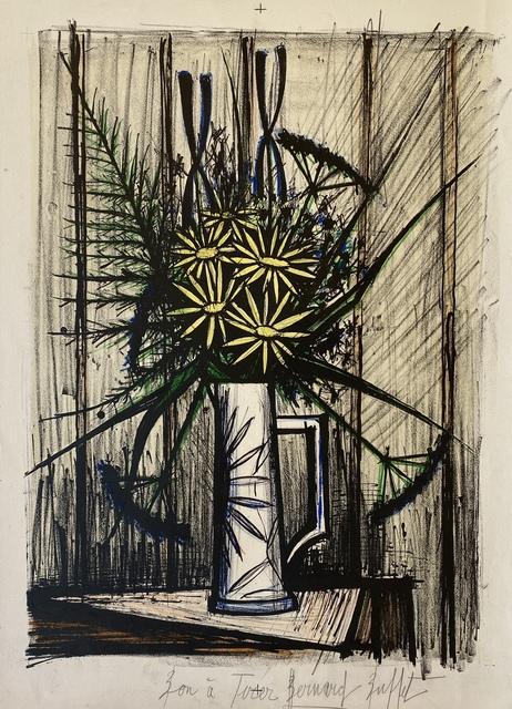 Bernard Buffet, 'Marguerites et Iris', 1970, Denis Bloch Fine Art
