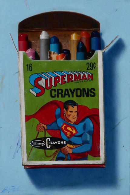 , 'Superman Crayons,' 2017, CODA Gallery