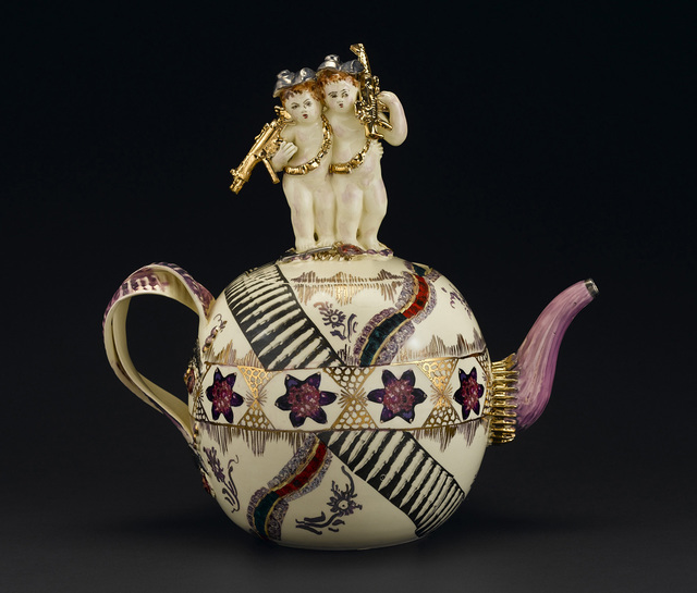 , 'Globular Chintz Teapot,' 2006, Virginia Museum of Contemporary Art