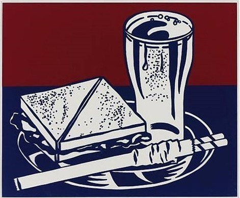 Roy Lichtenstein, 'Sandwich and Soda', 1965, David Benrimon Fine Art
