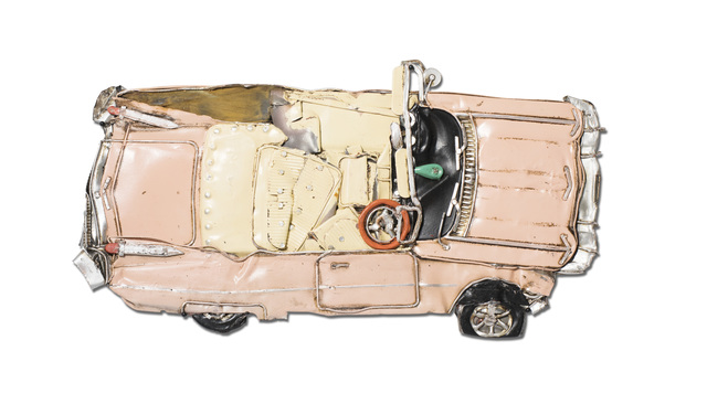 , 'Pressed Model Pink Eldorado,' 2018, Over the Influence