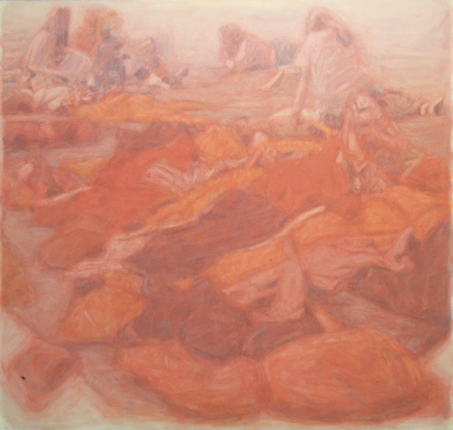 , 'Red was the tone,' 2015, Galeria Filomena Soares