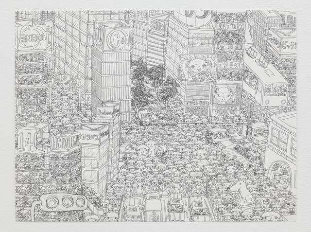 , '渋谷 Shibuya,' 2015, Tomio Koyama Gallery