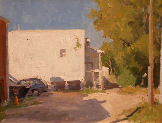 , 'Behind Main Street,' 2007, Grenning Gallery