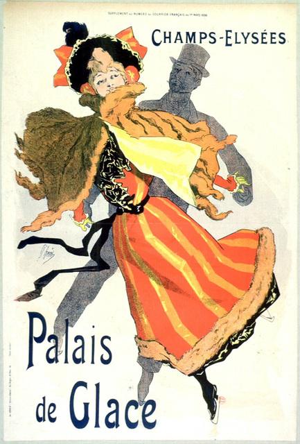 , 'Les Palais de Glace Champs Elysées,' 1895, Galerie d'Orsay