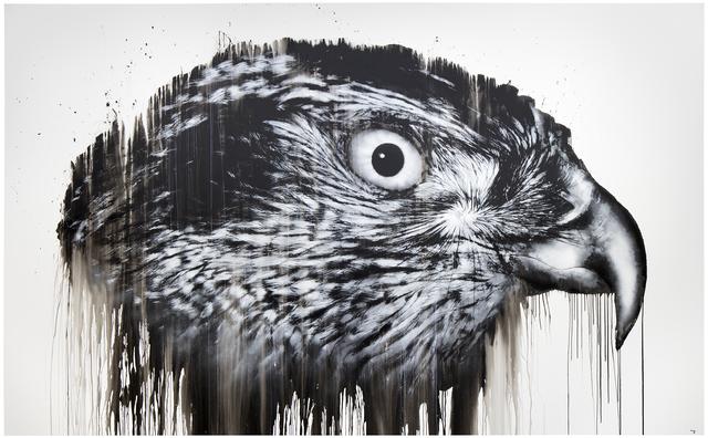 Jussi TwoSeven, 'kraa²⁷', 2016, Galleria Heino
