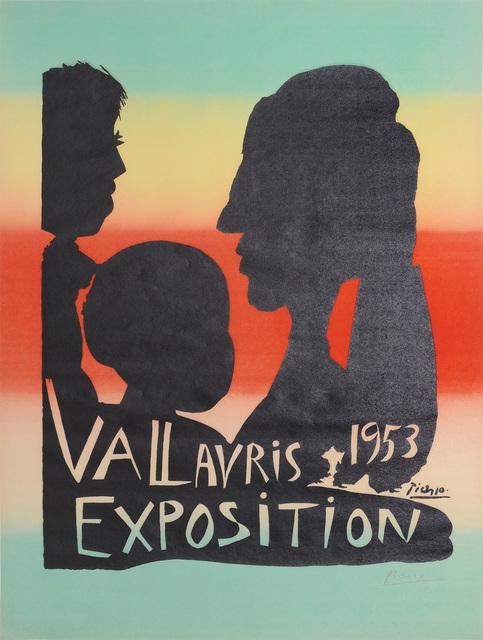 Pablo Picasso, 'Vallauris Exposition 1953', 1953, Peter Harrington Gallery