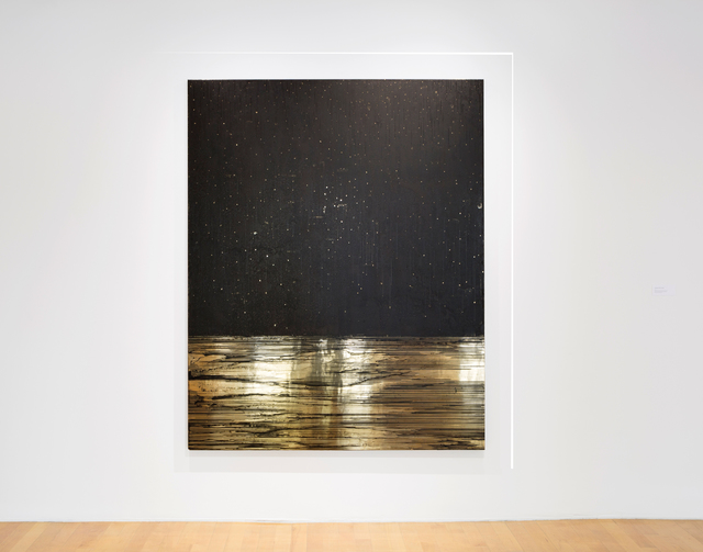 , 'Golden (Onyx Sky),' 2014, MASS MoCA