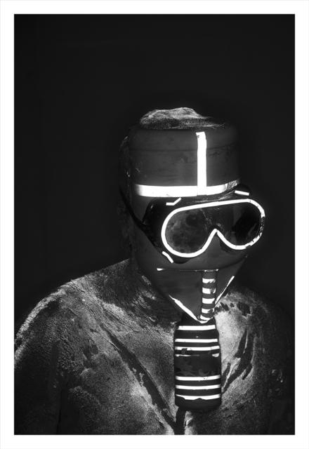 , 'Mask #6,' 2018, Klowden Mann