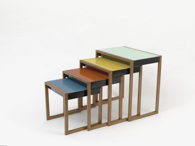 , 'Tables gigognes,' 1927, Les Arts Décoratifs