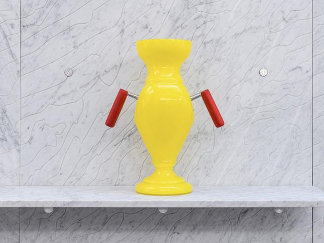, 'Yellow vase,' 2014, Chamber
