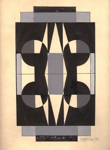 , 'Geométrico,' 1958, Galería de las Misiones