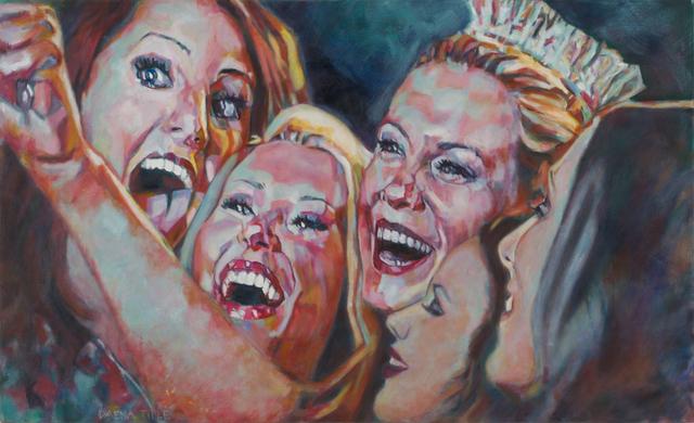 Daena Title, 'Miss Selfie', 2017, Painting, Oil on Canvas, Carter Burden Gallery