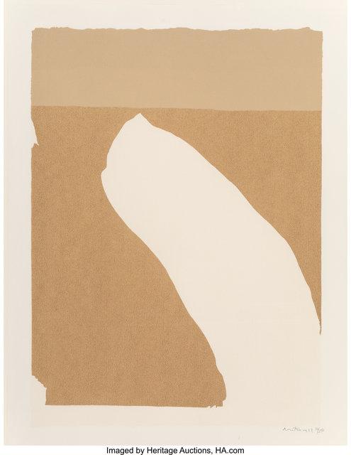 Robert Motherwell, 'Untitled, from Flight portfolio', 1971, Heritage Auctions