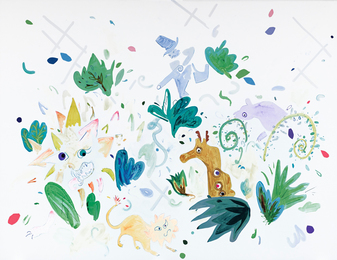 Laura Owens, 'Untitled,' 2006, Sotheby's: Contemporary Art Day Auction
