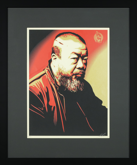 , 'Portrait of Ai Weiwei,' 2014, RUDOLF BUDJA GALLERY