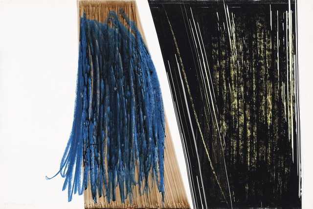 Hans Hartung, 'P10-1976-H10', 1976, HELENE BAILLY GALLERY