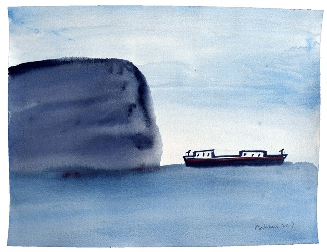 , 'Untitled/ Boats III,' 2017, Betty Cuningham