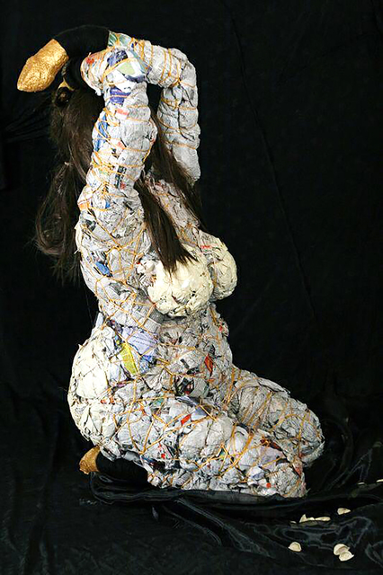 Shirin Fakhim, 'Tehran Prostitutes', 2008, Sculpture, Fabric and Clothes, Ministry of Nomads