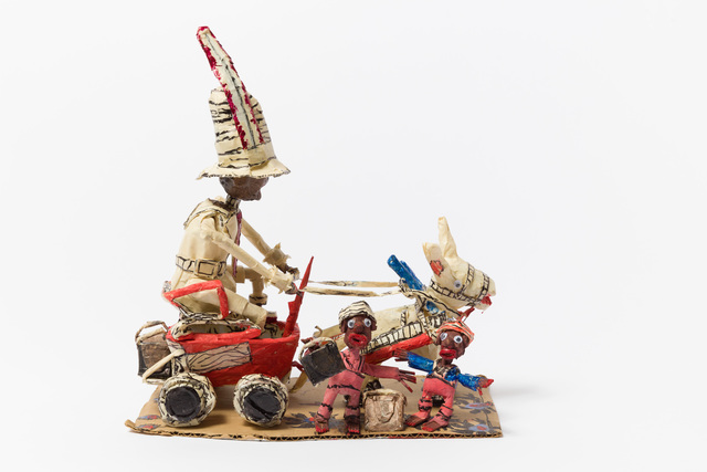 , 'Untitled (WH261 man riding red wagon with children),' , The Good Luck Gallery
