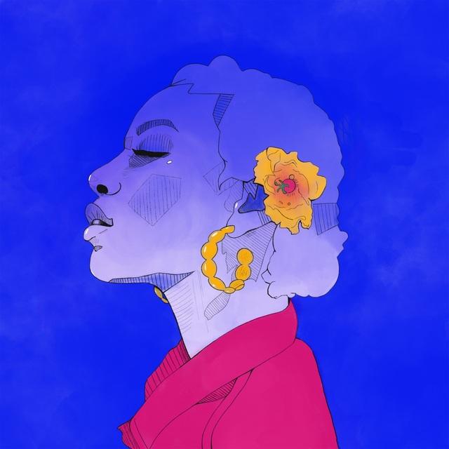 Laura Smethers, 'Dominique's Blue Sun', 2019, Specto Art Space