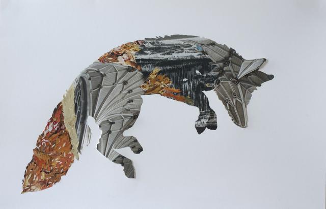 , 'D'un siècle à l'autre - Renard,' 2014, Galerie BAC